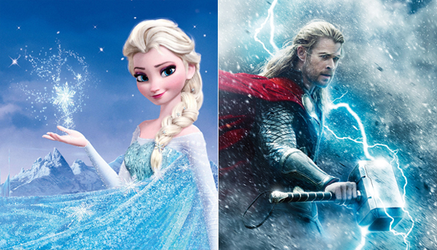 Frozen / Thor: The Dark World