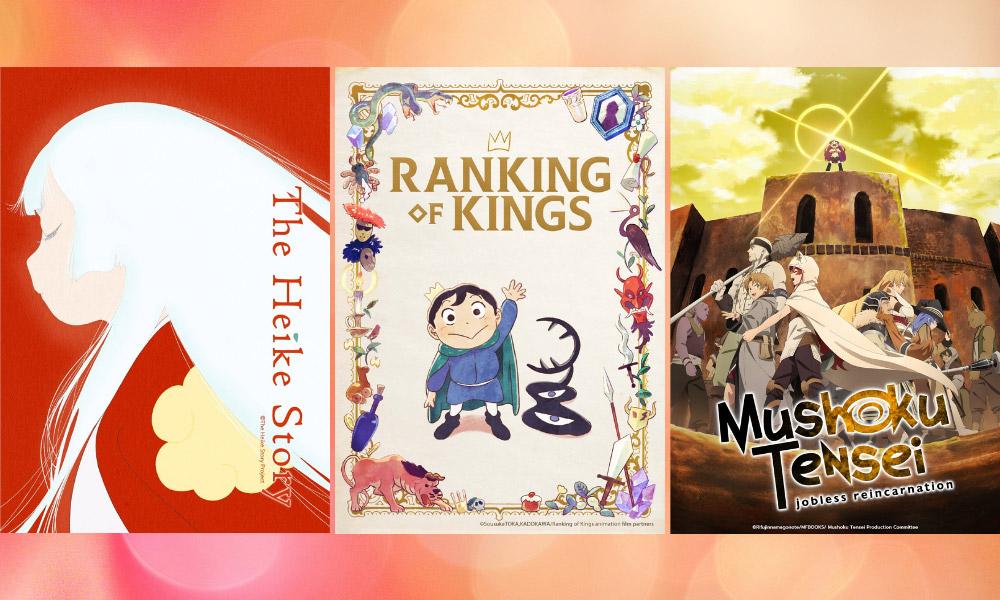 The Heike Story   Ranking of Kings   Mushoku Tensei: Jobless Reincarnation 2nd Cour