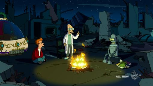 "Futurama's ""The Late Philip J. Fry"" episode"