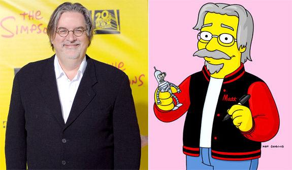 Cartoon Groening - Reference Below
