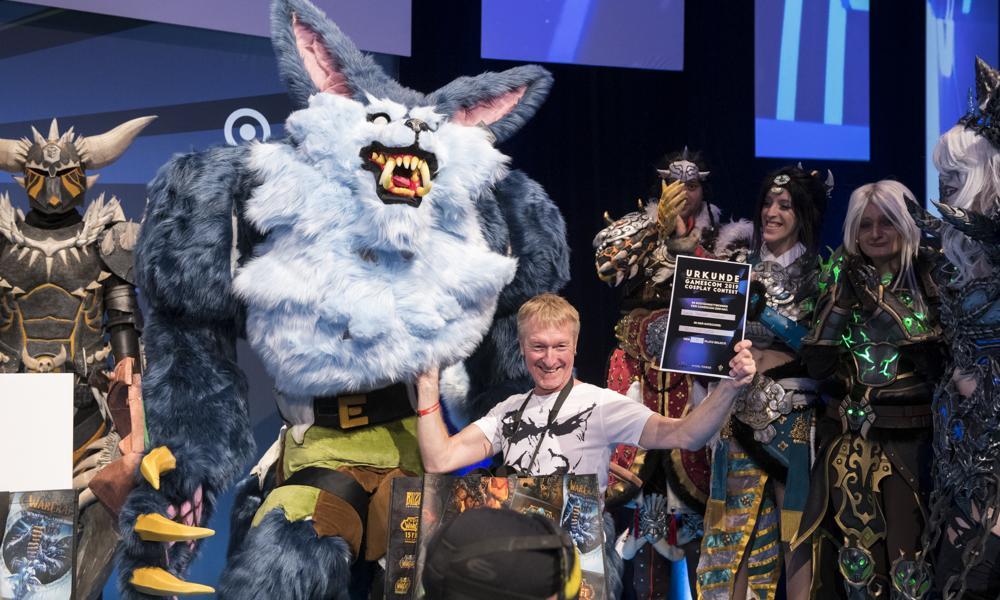 gamescom cosplay contest powered by HYDRA FORGE, Best Costume winner Konrad-Adenauer-Saal