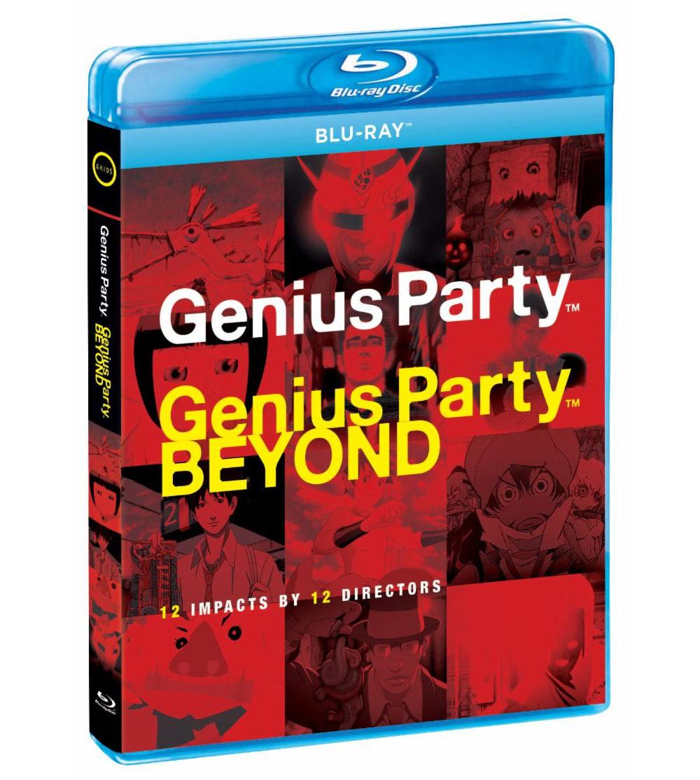 Genius Party Blu-ray