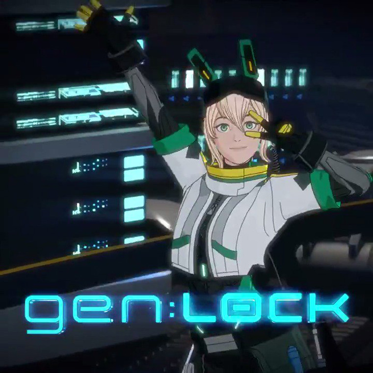 Cammie from gen:LOCK. Image credits: courtesy of Rooster Teeth.