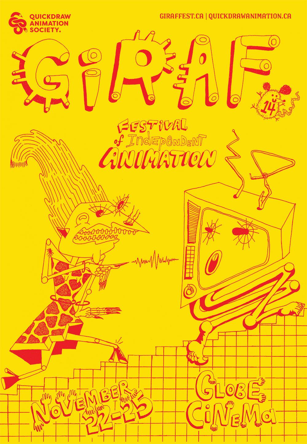 GIRAF 2018 poster by Arielle McCuaig