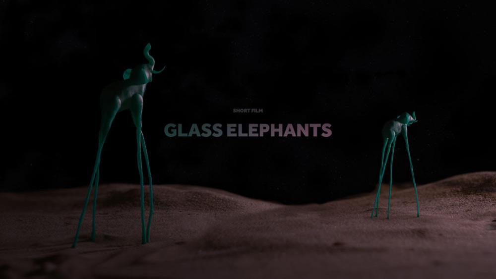 Glass Elephants