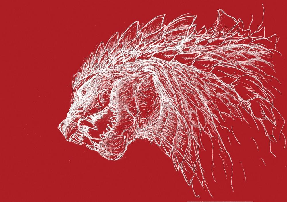 Kaiju design by Eiji Yamamori