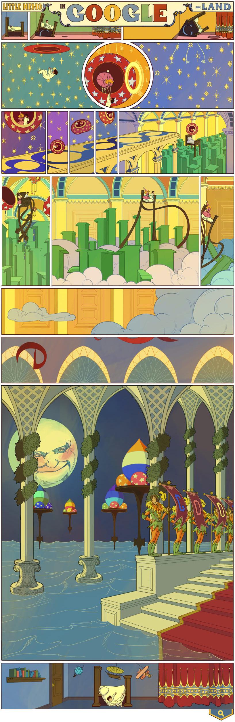 Winsor McCay Google Doodle