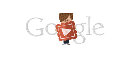 Valentine's Day Google Doodle by Michael Lipman