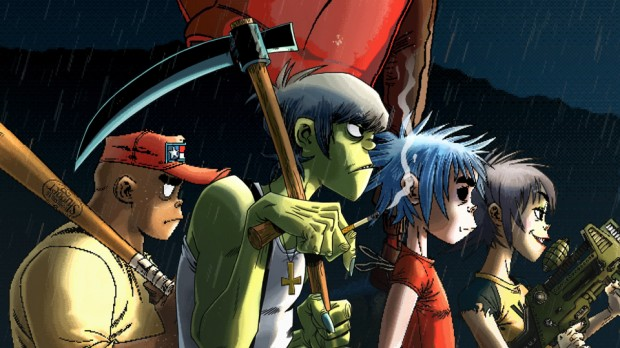 "Gorillaz ""Garage Palace"""