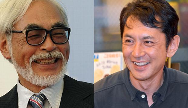 Goro and Hayao Miyazaki. Hayao Miyazaki image credit: Damien Meyer/AFP/Getty