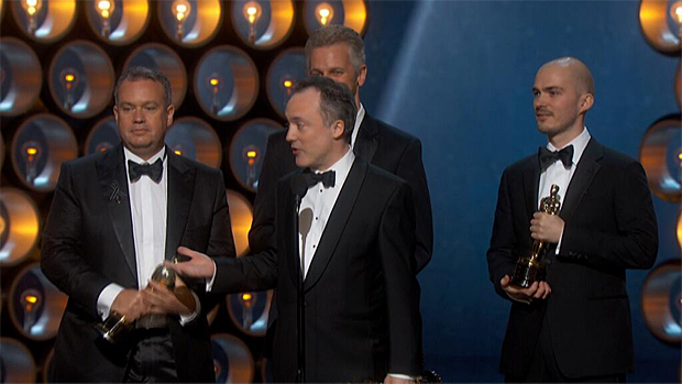 Oscars 2014: Award for achievement in special effects goes to the team behind Gravity
