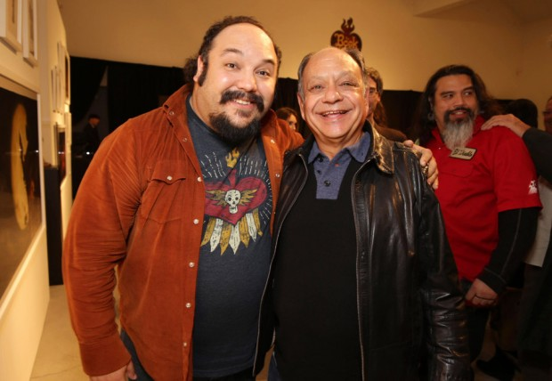 (from left) Jorge Gutierrez and Cheech Marin