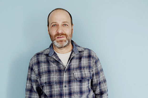 The 51-year old son of father (?) and mother(?), 168 cm tall H. Jon Benjamin in 2018 photo