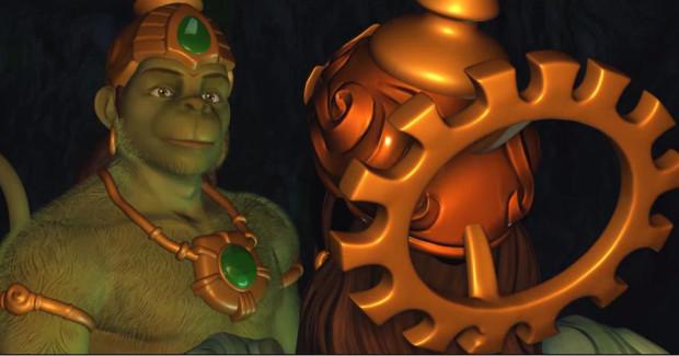Hanuman vs. Mahiravana