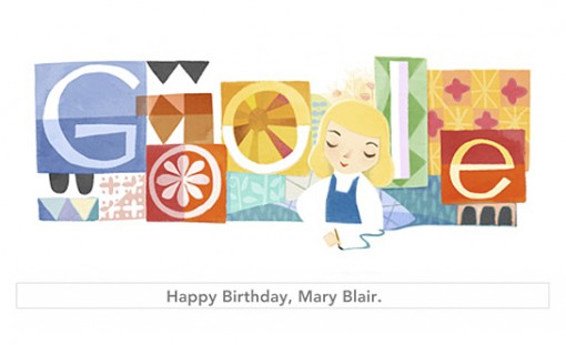Google honors Disney Legend Mary Blair's 100th birthday