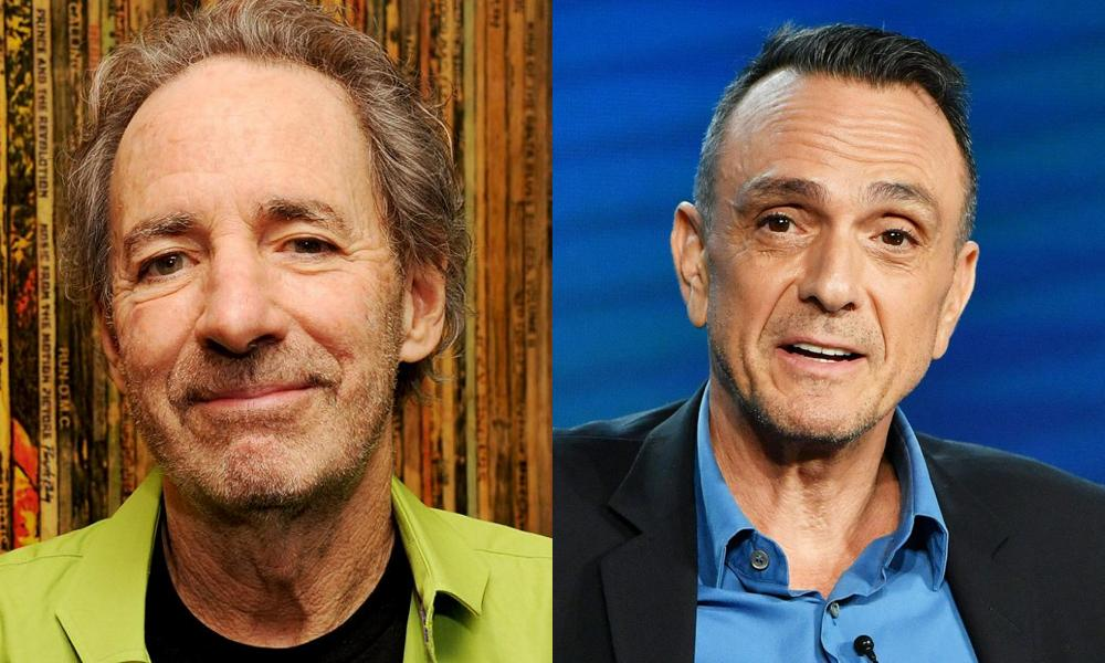 Harry Shearer [Photo: Mark Sullivan / WireImage] and Hank Azaria [Photo: Amy Sussman / Getty Images]