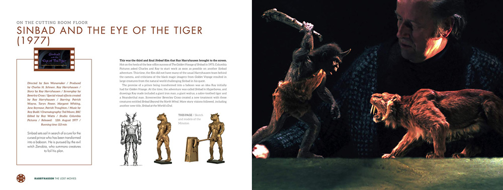 Harryhausen: The Lost Movies inside pages