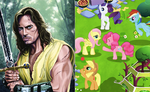 Hercules: The Legendary Journeys / My Little Pony: Friendship is Magic