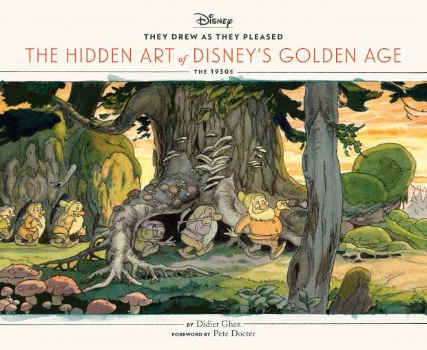 hidden art of disney golden age