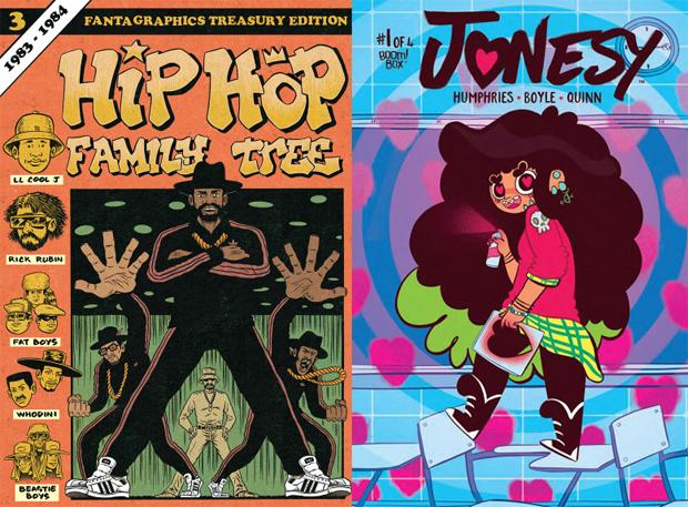 Hip Hop Family Tree and Jonesy