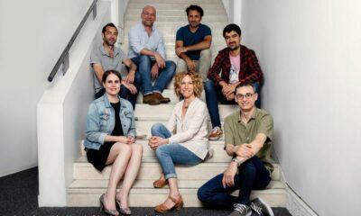 Jean-François Ramos, Jérôme Mouscadet, Fabrice Delapierre, Jonathan Giroux Emmanuelle Chabord, Sophie Decroisette and Quentin Auger (Photo © Julie Ansiau)