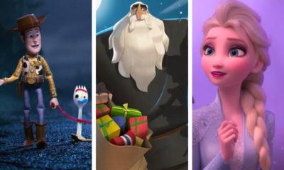 Toy Story 4, Klaus, Frozen II