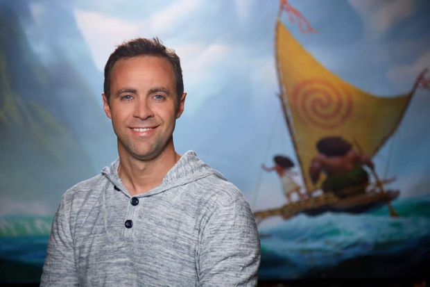 Hyrum Osmond, head of animation for Moana (Photo: Walt Disney Studios)