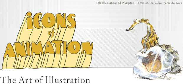 Icons of Animation: The Art of Illustration
