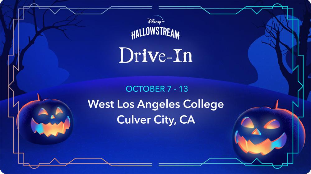 Drive-in Disney + Hallowstream