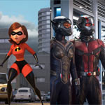 The Incredibles 2, Ant-Man and the Wasp