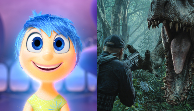 Inside Out / Jurassic World
