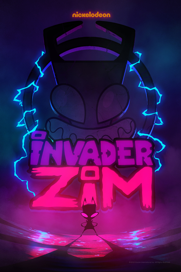 ZIM returns in Nickelodeon's INVADER ZIM: Enter the Florpus.