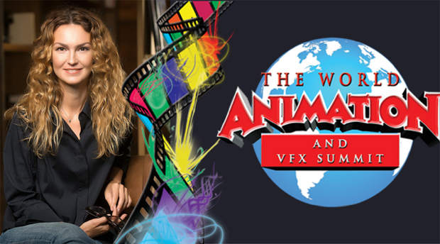 Iryna Kostyuk at World Animation & VFX Summit