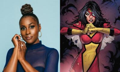 Issa Rae [Photo: Jabari Jacobs] | Jessica Drew/Spider-Woman [Marvel Comics]