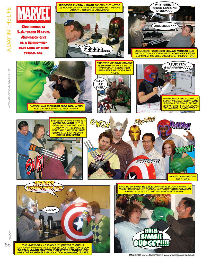 Animation Magazine August 2009 #195 - Digital Edition