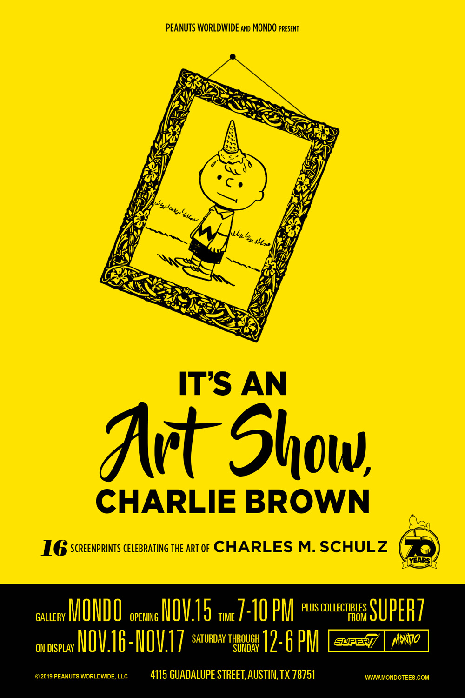 It's an Art Show Charlie Brown