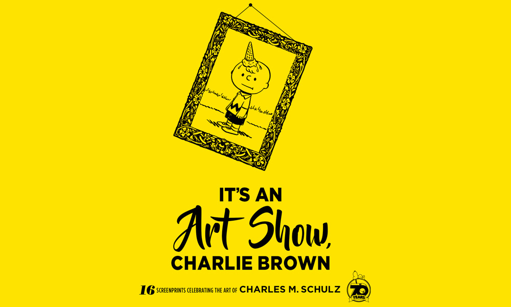 It's an Art Show Charlie Brown
