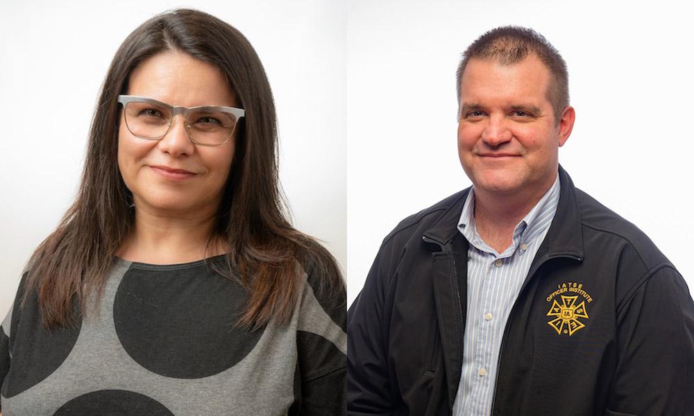 Jeanette Moreno King and Steve Kaplan