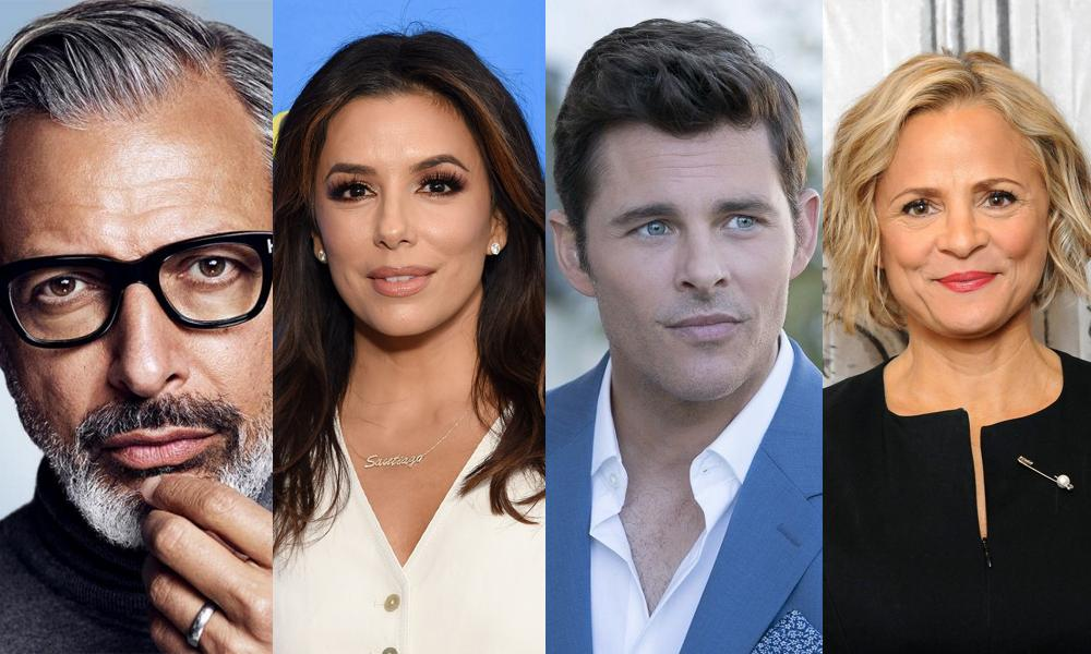 Jeff Goldblum, Eva Longoria, James Marsden and Amy Sedaris