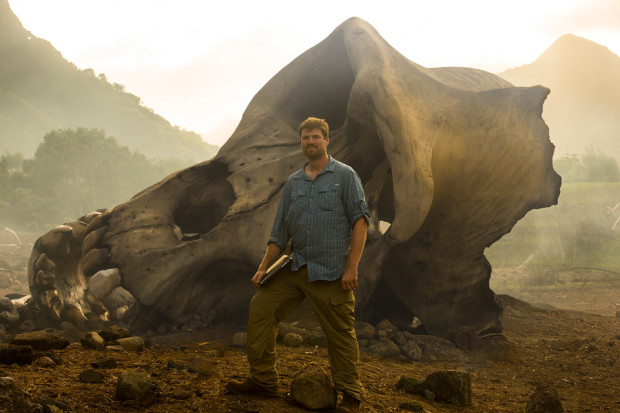 Jeff White on the set of Kong: Skull Island