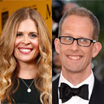 Jennifer Lee and Pete Docter