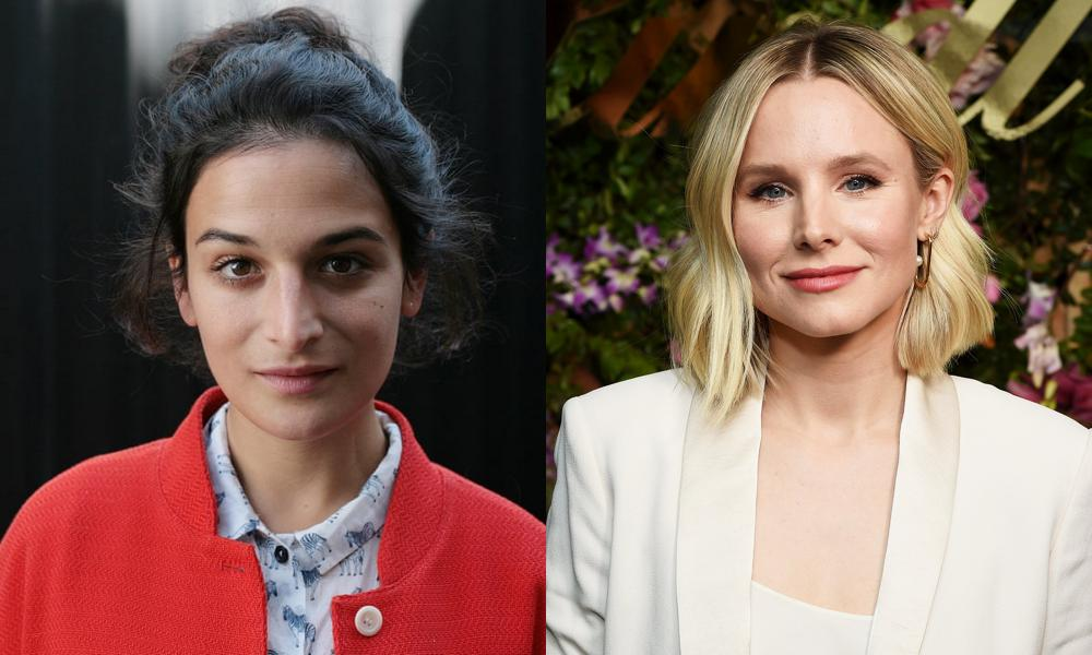 Jenny Slate and Kristen Bell