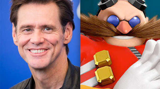 Jim Carrey as Dr. Robotnik in Sonic the Hedgehog