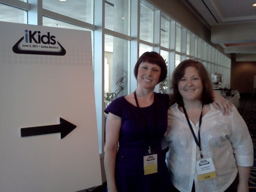 Kidscreen's publisher Joceyln Christie and editor Lana Castleman were on hand to make sure all the panels ran smoothly