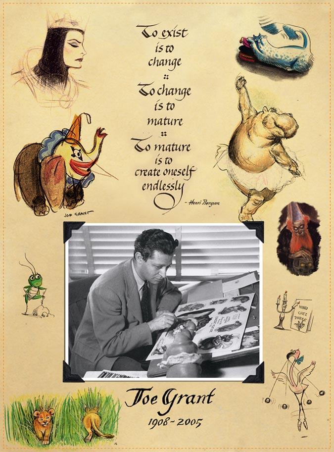 Joe Grant The Legendary Undefinable Joe Grant Animation Magazine