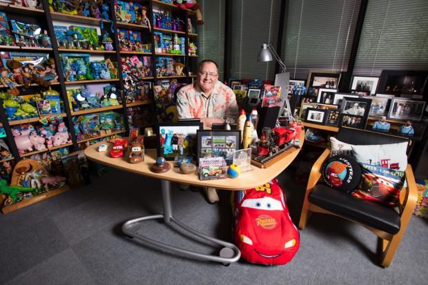 John Lasseter. Photo Credit: Deborah Coleman / Pixar