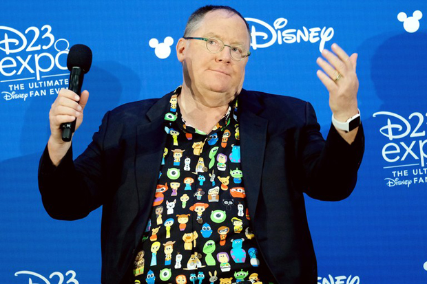 John Lasseter at D23 Expo 2017 [Photo by Chris Delmas/AFP/Getty Images]