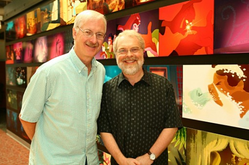 John Musker (left) and Ron Clements