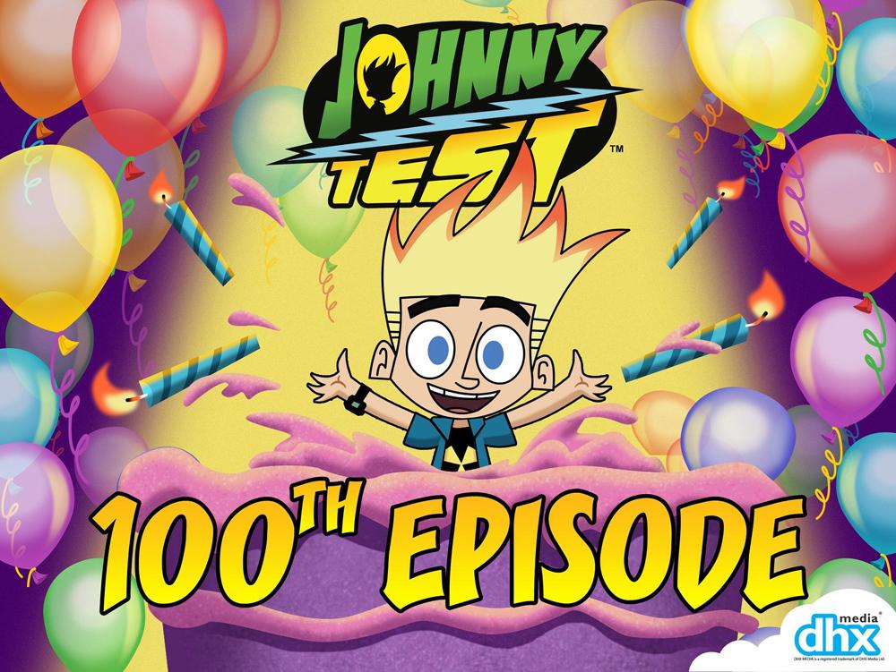 Creator Scott Fellows Pens 100th 'Johnny Test'
