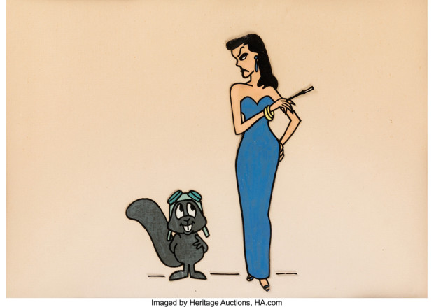 June Foray Collection - Rocky and Friends Rocky the Flying Squirrel and Natasha Cel (Jay Ward, 1959)
